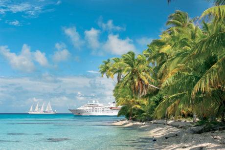 Windstar cruise in Tahiti